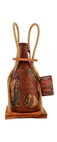 Вино красное сухое jevan (Иджеван) Тнакан кувшин с веревкой