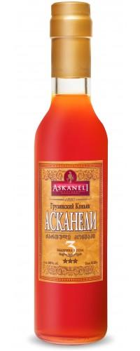 Коньяк Асканели (Askaneli) 3 летний 0,25л