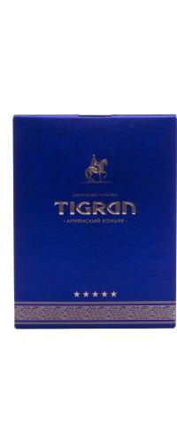 Коньяк армянский Тигран (Tigran) 5 лет 0,5л (В подарочной коробке)