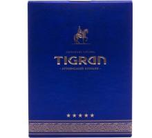 Коньяк армянский Тигран 5 лет 0,5л (В подарочной коробке)