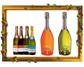 Встречайте новинки - Игристые вина Moscato Fiorelli Ananas и Moscato Fiorelli Mandarino!!!